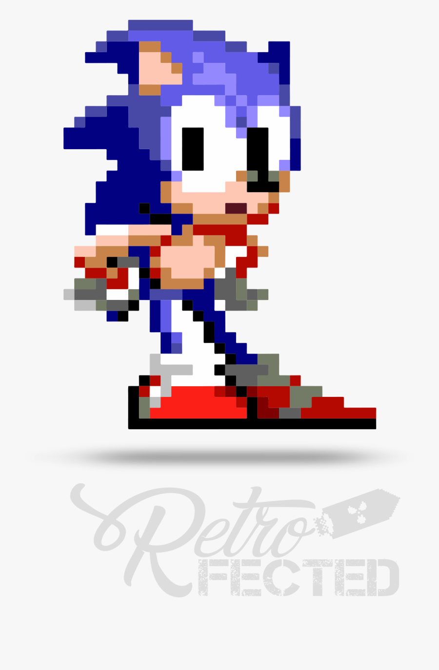 Sonic 16 Bits Gif Free Transparent Clipart Clipartkey