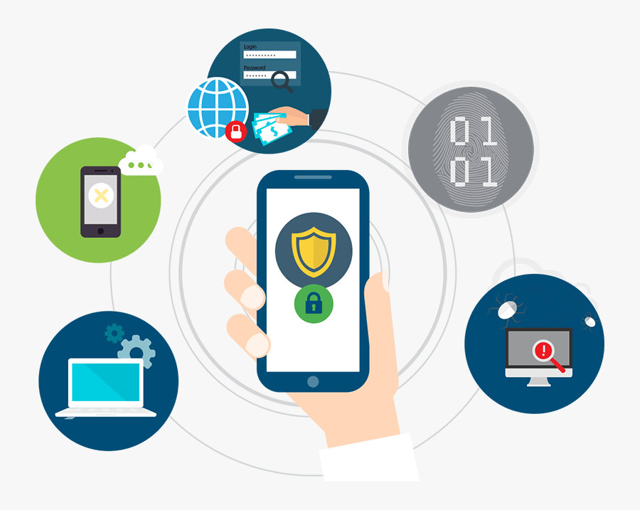 Information Security Clipart - Enterprise Mobility And Security Icon, Transparent Clipart