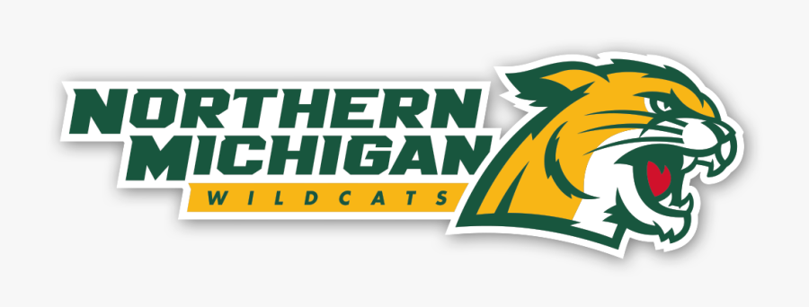 Nmu-tech Football To Be Broadcast On Social Media - Northern Michigan University Wildcat Logo, Transparent Clipart