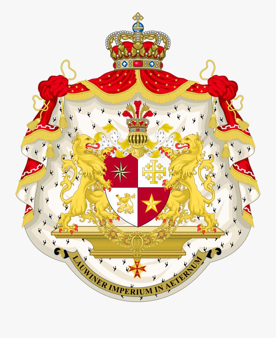 Crete Coat Of Arms, Transparent Clipart