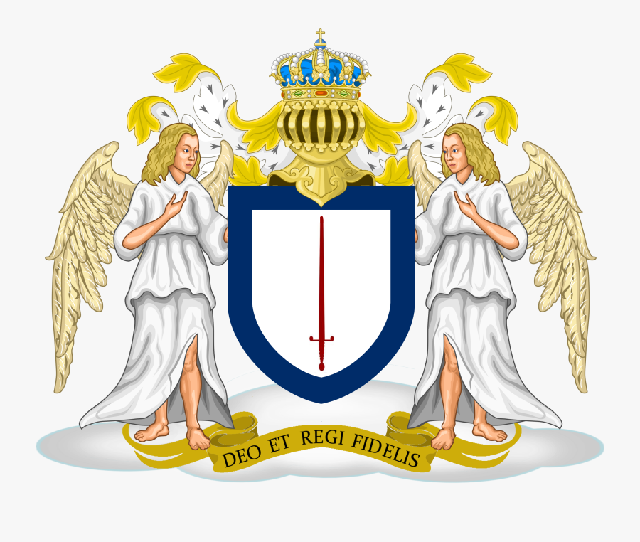 Angel Coat Of Arms, Transparent Clipart
