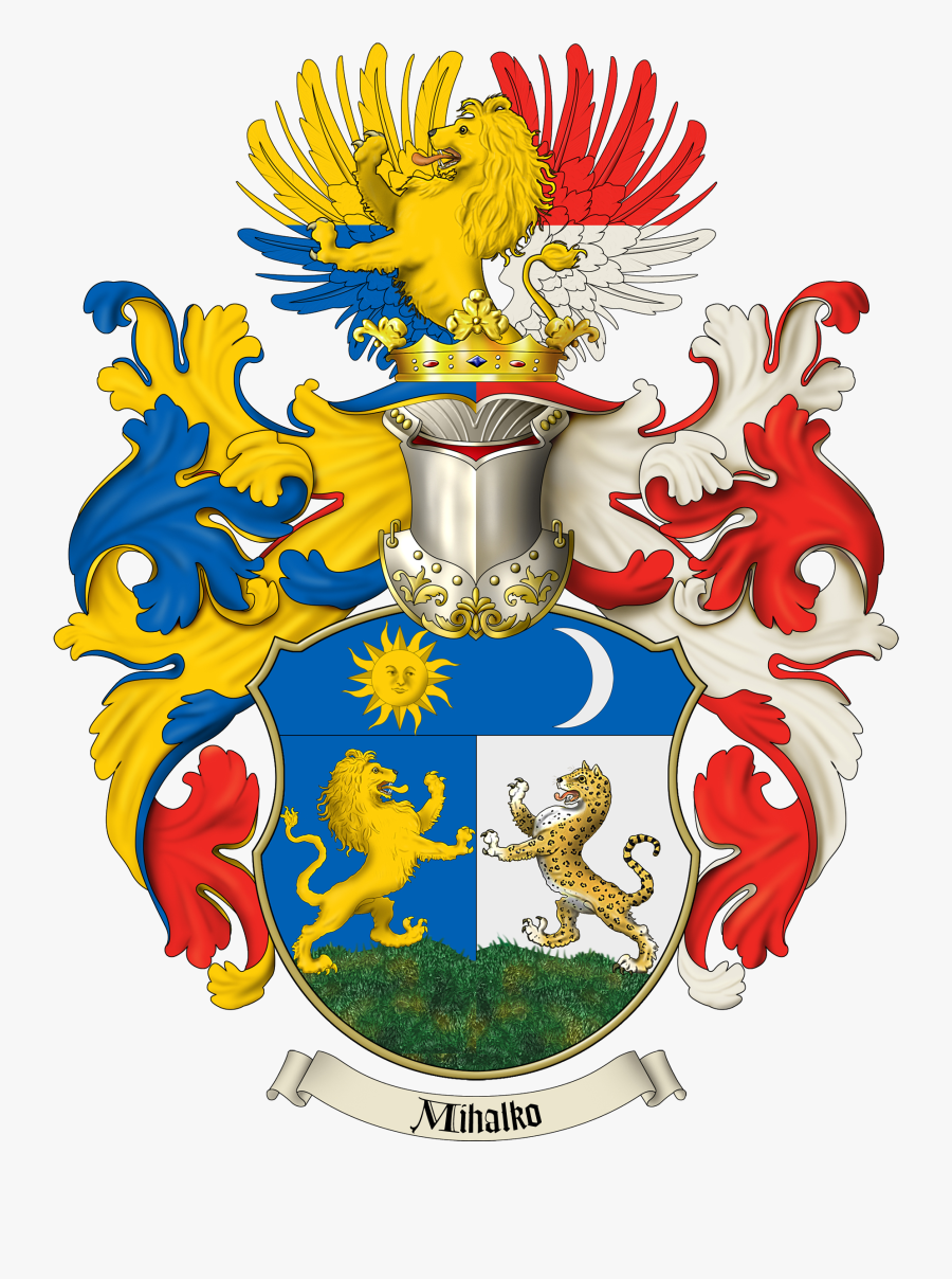 Family Crest And Of - Family Coat Of Arms, Transparent Clipart