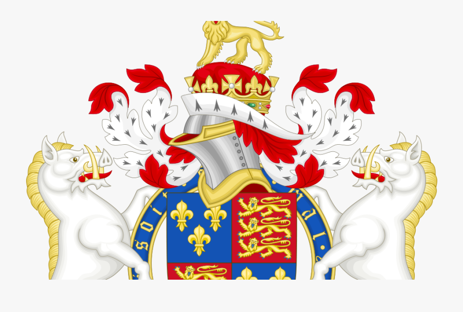 Coat Of Arms With Animals, Transparent Clipart