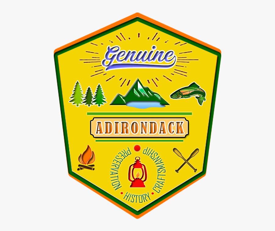 Genuineadirondack - Com - Sign, Transparent Clipart