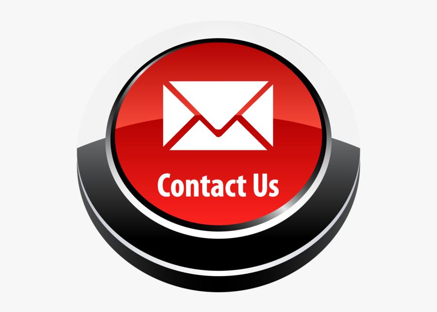 Contact Us Button Png Clip Art Transparent Stock - Contact Us Logo Png, Transparent Clipart