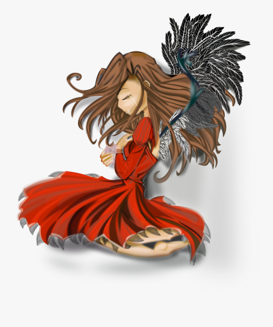 Anime Drawing Angel, Transparent Clipart