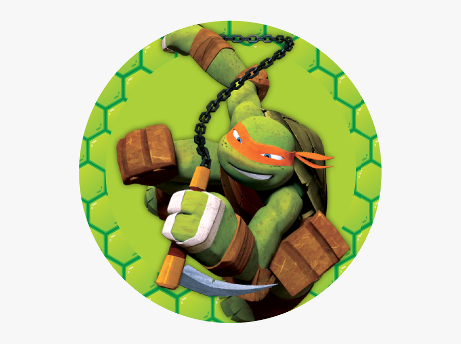 Tmnt 2012 Mikey Free Transparent Clipart Clipartkey