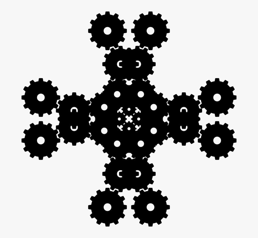Transparent Cross And Flowers Clipart - Cross, Transparent Clipart