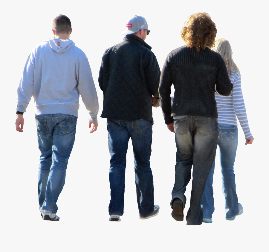 Group Of People Walking Png - Group Of People Photoshop Png, Transparent Clipart
