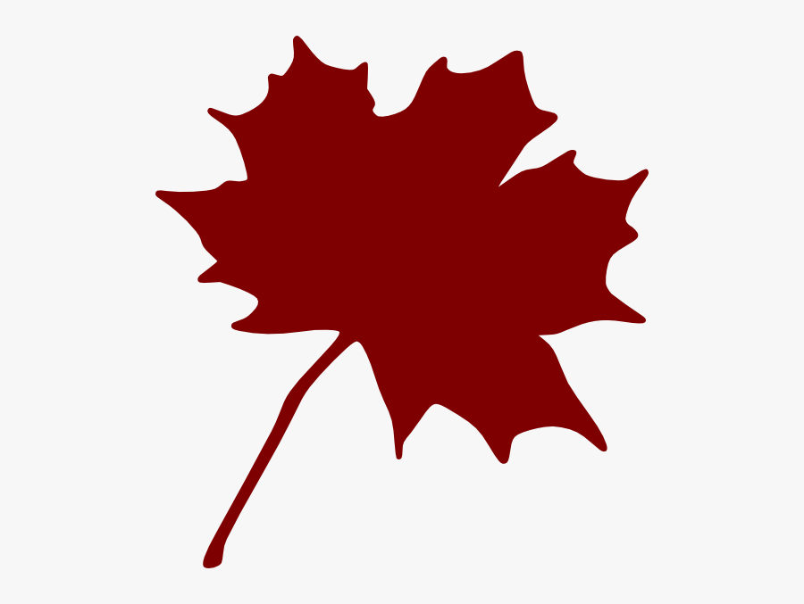 Orange Maple Leaf Clipart, Transparent Clipart