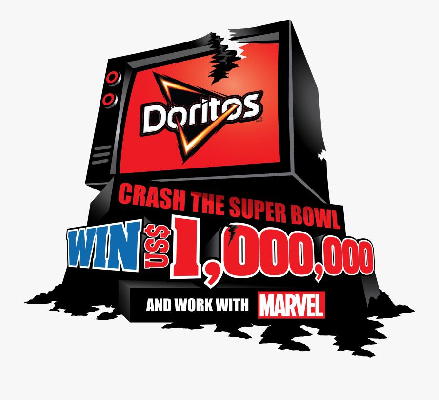 Doritos - Doritos Crash The Superbowl, Transparent Clipart