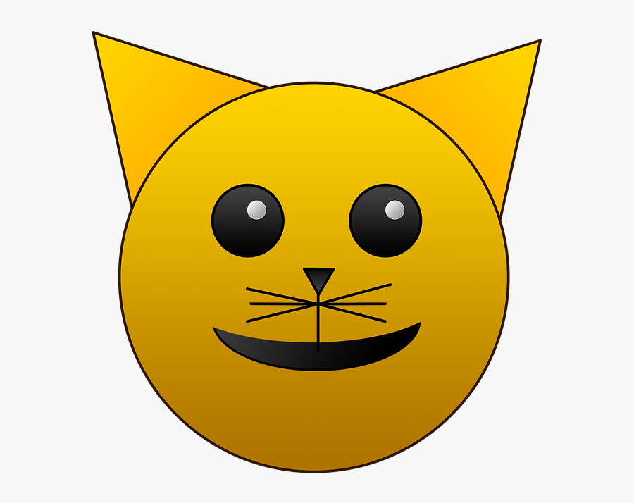 Cat, Emoji, Happy, Emotion, Cute, Face, Emoticon, Funny - Smiley, Transparent Clipart