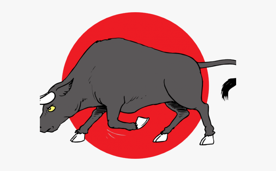 Ox Clipart Charge - Stier Ausmalbild, Transparent Clipart