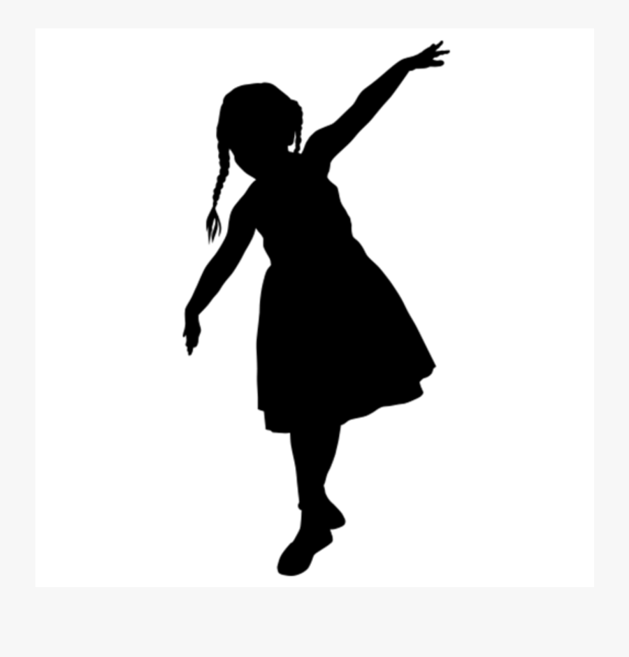 Silhouette Child Drawing Vector Graphics Image - Child Silhouette, Transparent Clipart