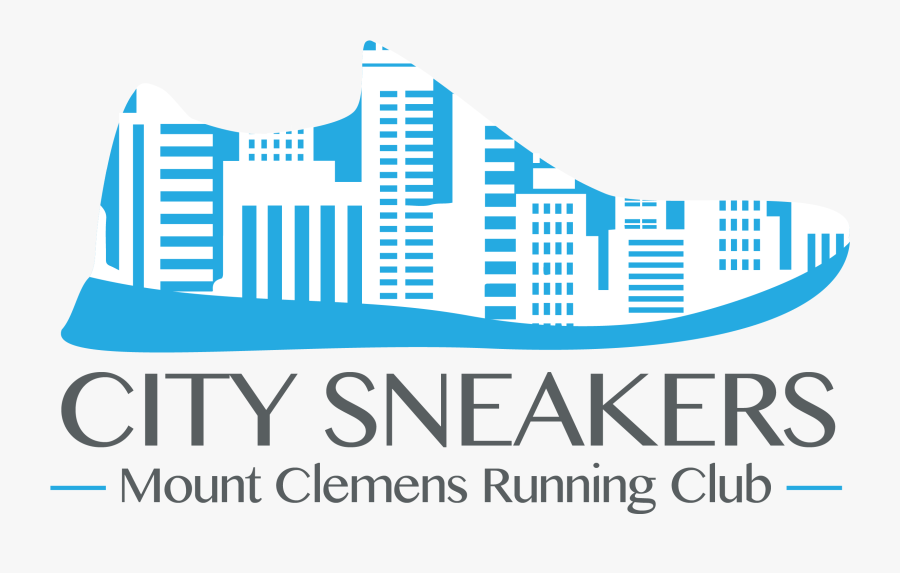 Clip Art Running Club Logo - City Running Logo, Transparent Clipart