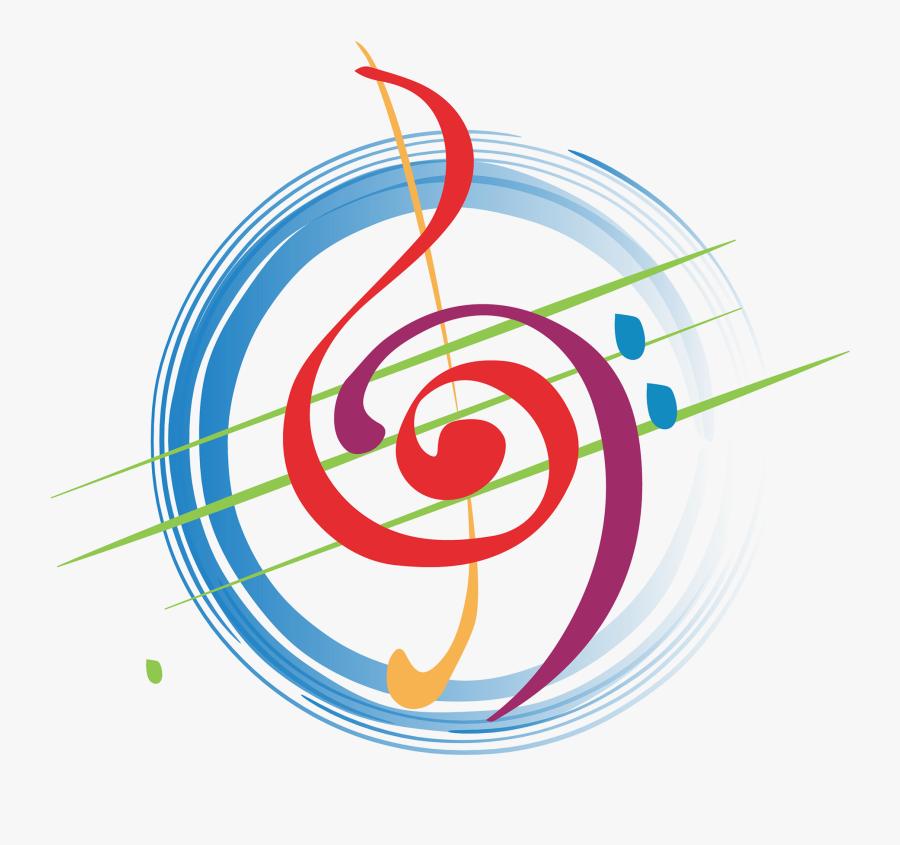 Clip Art Music Studio Logo - Circle Music Logo Design, Transparent Clipart