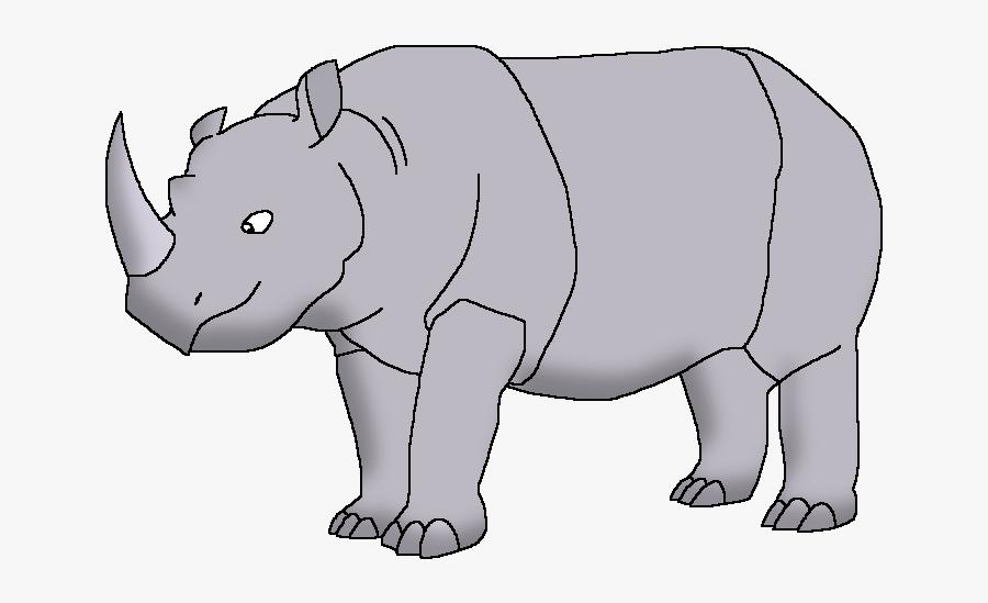 Wildlife Animal Pedia Wiki - Black Rhinoceros, Transparent Clipart
