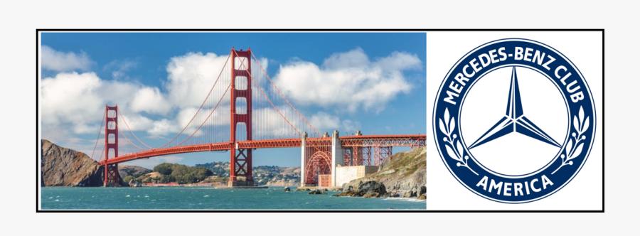 San Francisco Bay Area Section - Golden Gate Bridge, Transparent Clipart