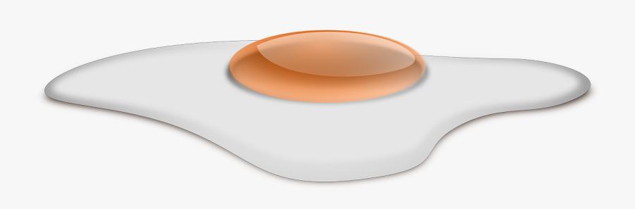 Fried Egg Egg Sunny Side Up Overeasy - Mouse, Transparent Clipart