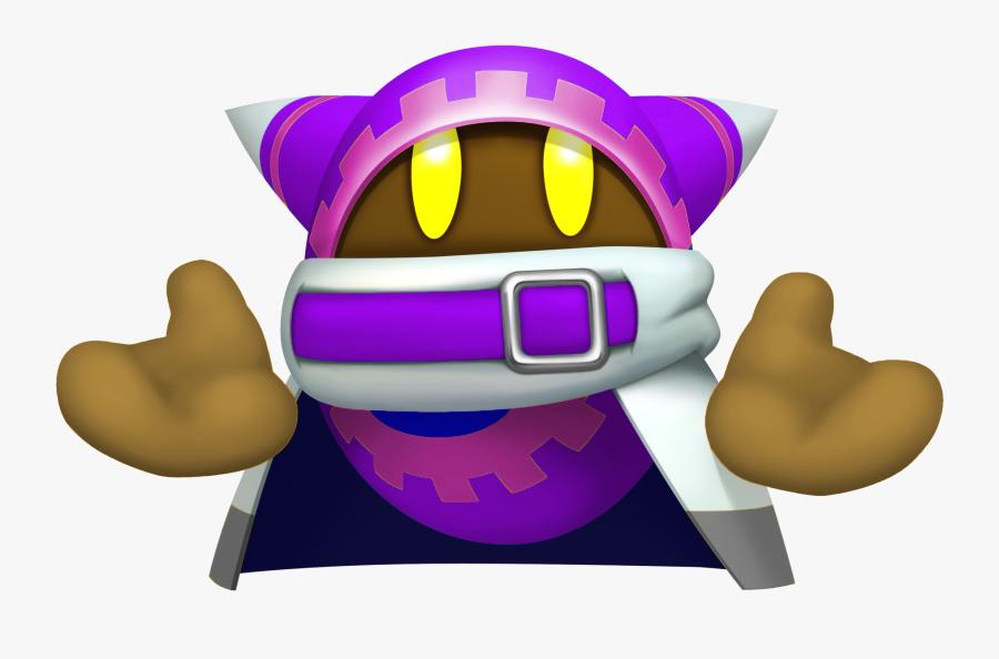 Mitten Clipart Purple - Kirby Return To Dreamland Maglor, Transparent Clipart