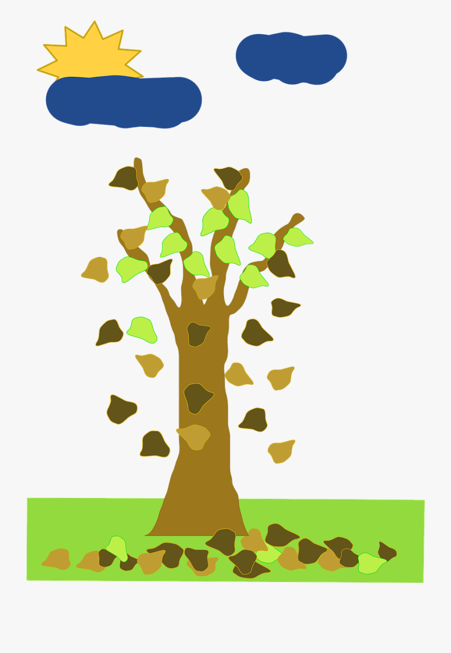 Fall Without Leaf Tree Cartoon From Free Trees Leaves Falling Off Tree Animated Free Transparent Clipart Clipartkey Jungle forest with waterfal cartoon vector. fall without leaf tree cartoon