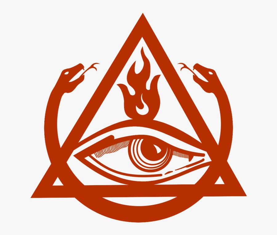 2 Headed Snakes Symbols, Transparent Clipart