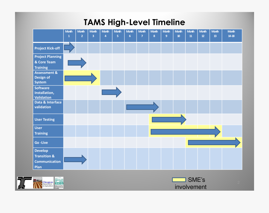 Business Timeline Template - High Level Project Plan Template Word, Transparent Clipart