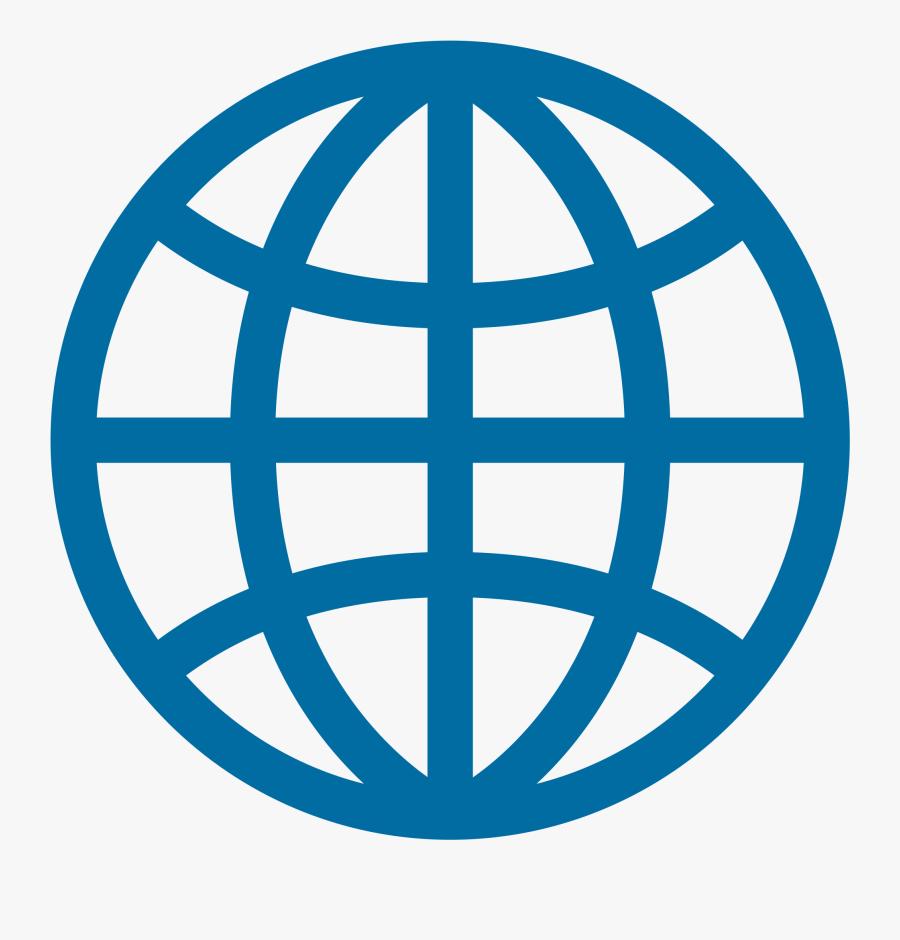 Web Vector World Wide - Website Logo Vector Free Download, Transparent Clipart