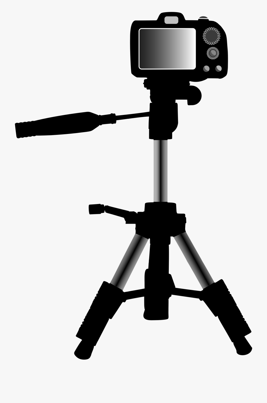 Remix Of Big Image - Camera On Tripod Clipart, Transparent Clipart