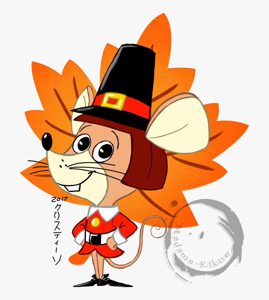 Mayflower Clipart Cute - Mouse On The Mayflower, Transparent Clipart