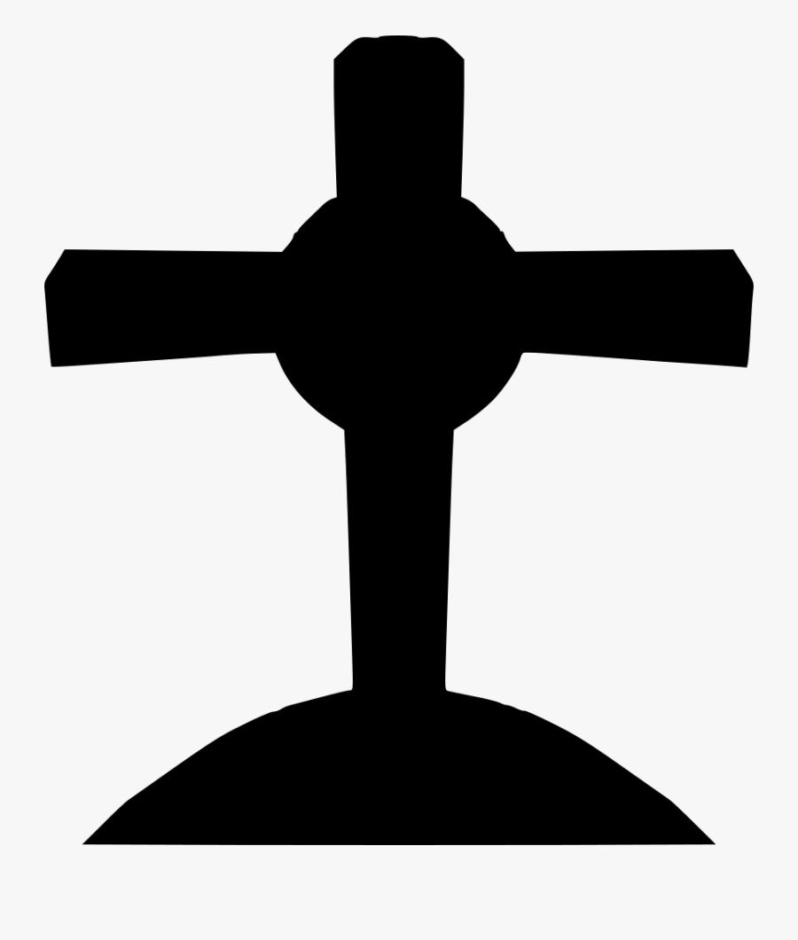 Transparent Grave Png - Cross, Transparent Clipart