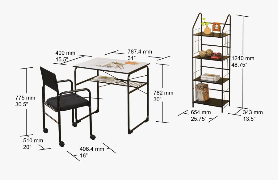 Transparent Student Desk Png - Bookcase, Transparent Clipart