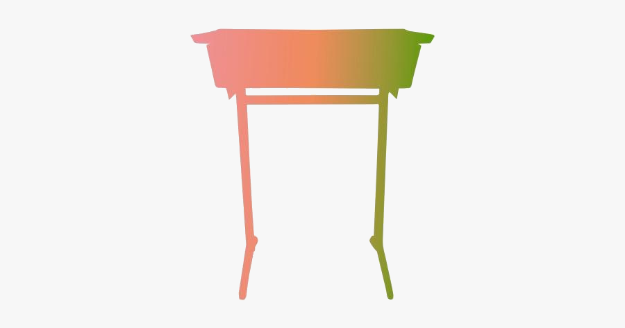 Student Desk Png Transparent Images - Folding Table, Transparent Clipart