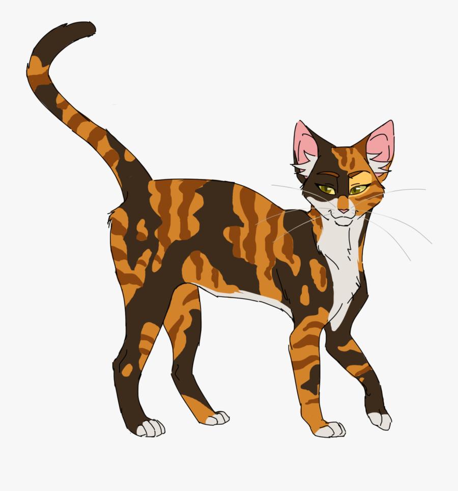 Feline Clipart Cat Design - Spotted Leaf Warrior Cats, Transparent Clipart
