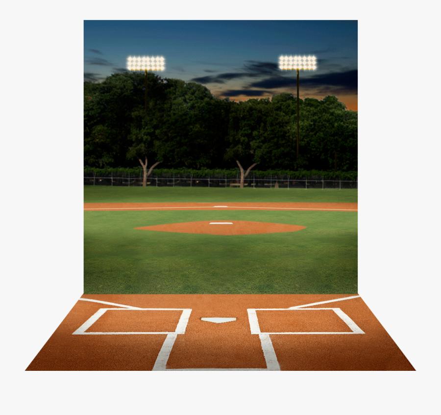Transparent Baseball Diamond Png - Baseball Field, Transparent Clipart