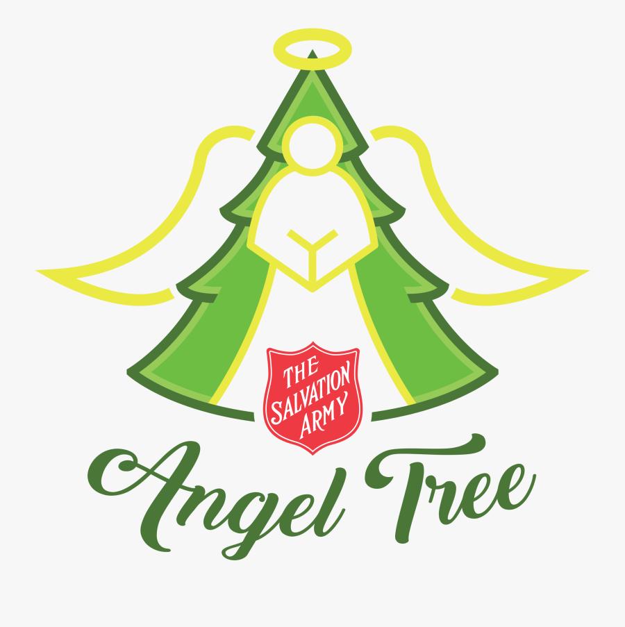Clip Art Angeltreelogo Transparent Salvation Army - Salvation Army Angel Tree Png, Transparent Clipart