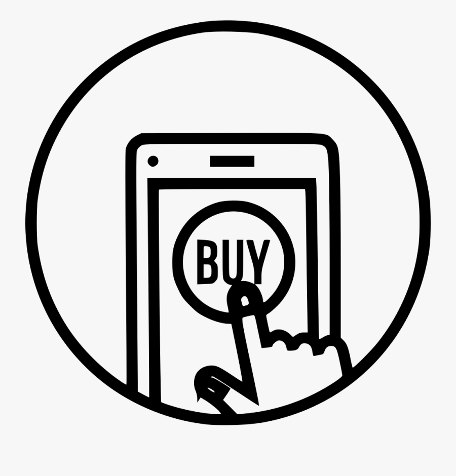 Online Store Buy Sell - Online Shopping Icon Png, Transparent Clipart