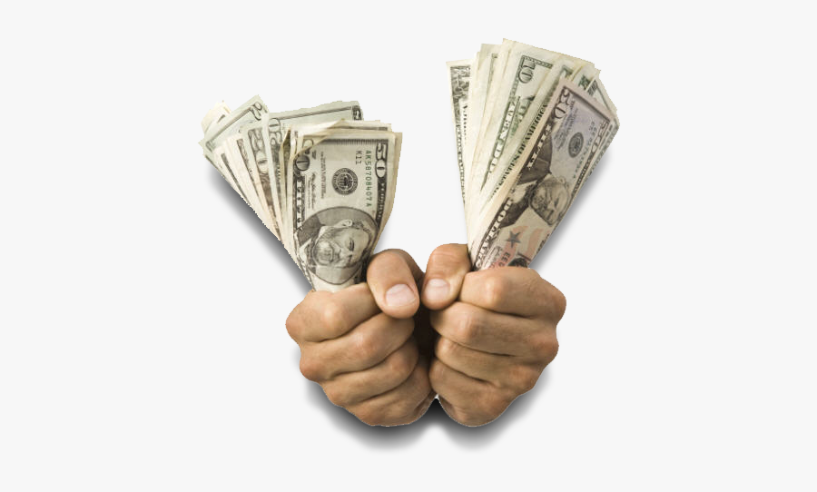 Money In Hand Png - Money In Hands Png, Transparent Clipart