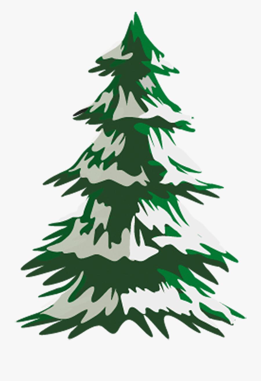 Transparent Hemlock Clipart - Snow On Pine Trees Drawing ...