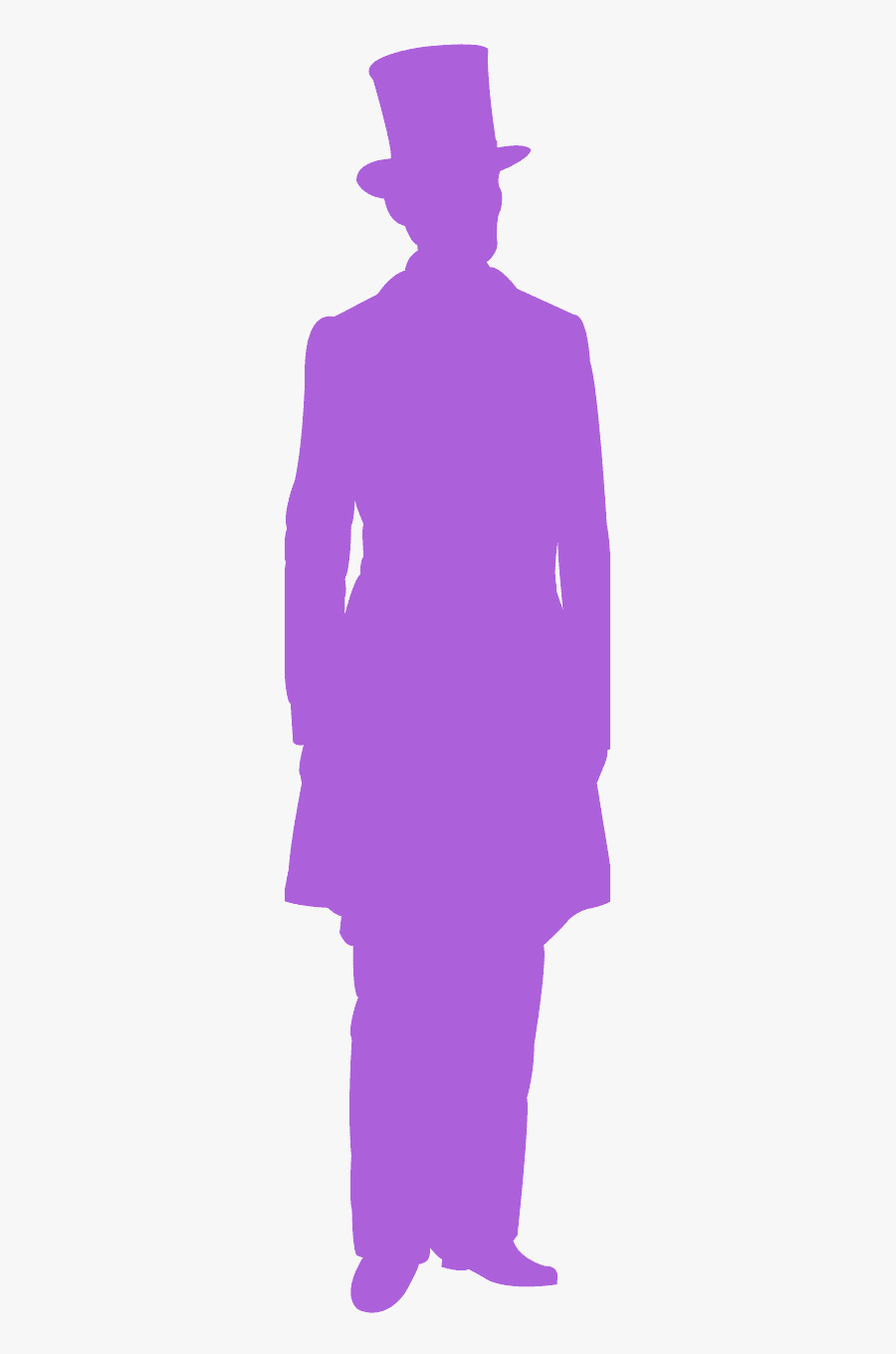 Man In Hat Silhouettes, Transparent Clipart