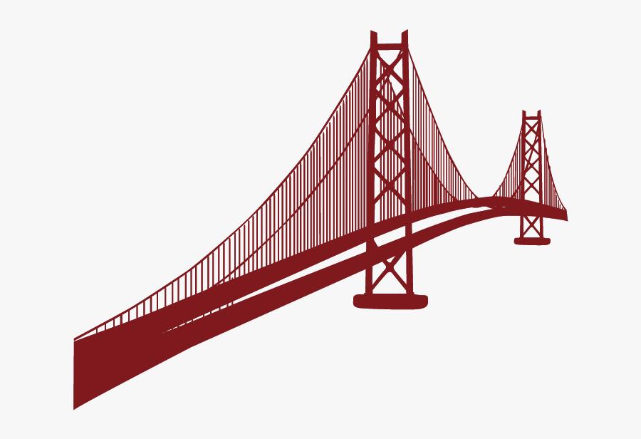 Golden Gate Bridge San Franciscou2013oakland Bay Bridge - Golden Gate Bridge Png, Transparent Clipart