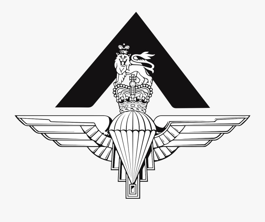 Parachute Regiment Cap Badge, Transparent Clipart