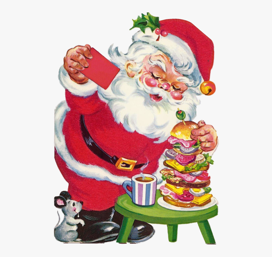 Santa Claus, Transparent Clipart