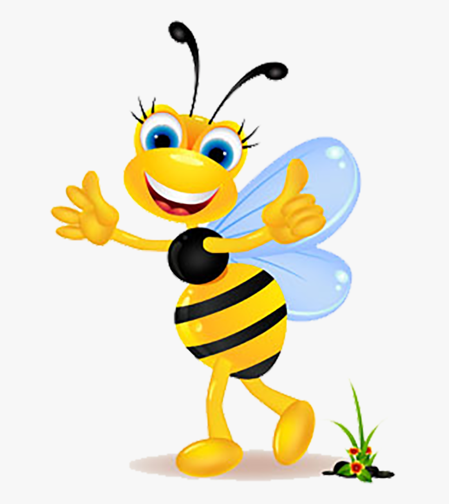 Insect Royalty Free Clip Female Honey Bee Cartoon Free Transparent Clipart Clipartkey