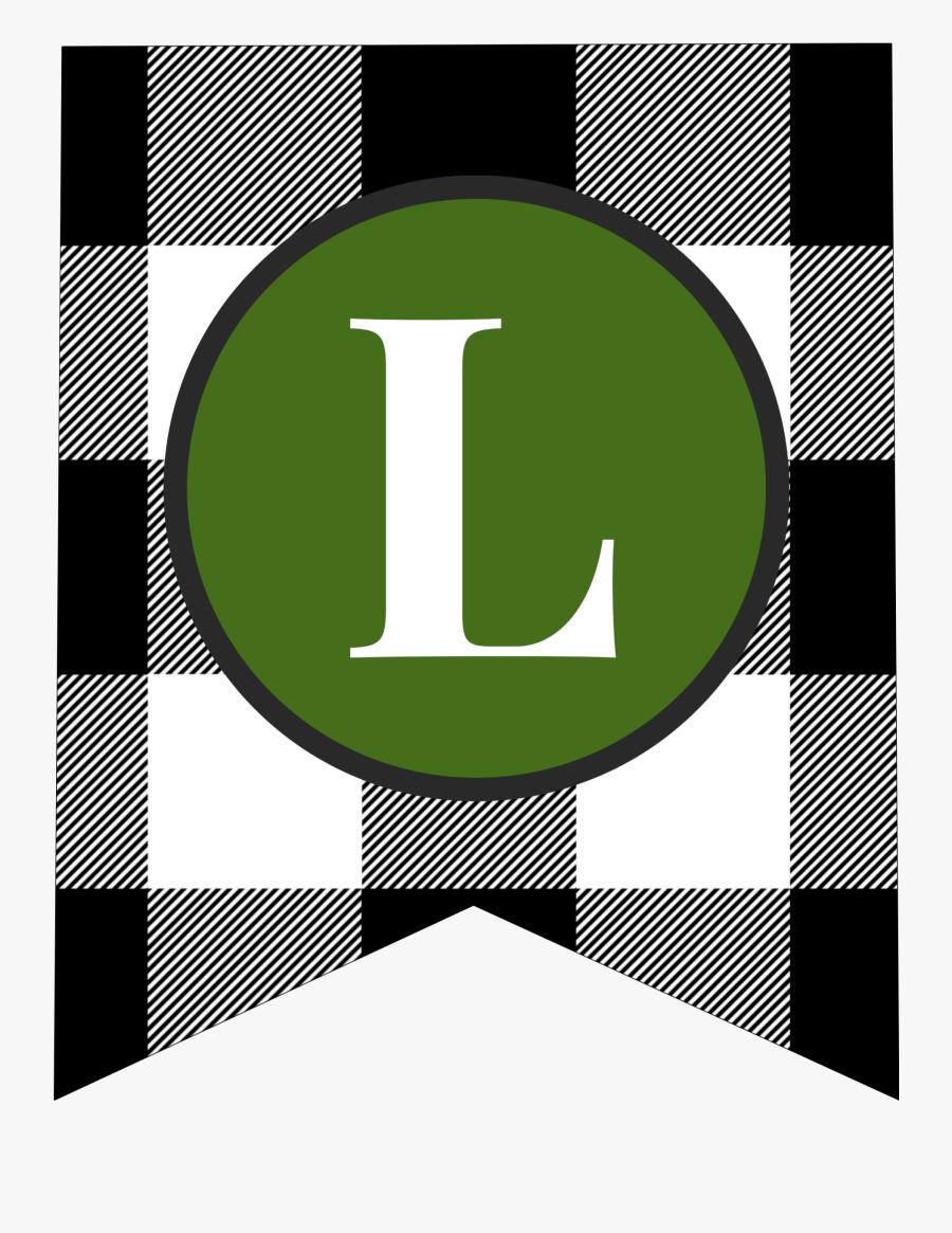 Transparent Elf On The Shelf Letterhead Clipart - Green Alphabet Letter Banner Printable, Transparent Clipart