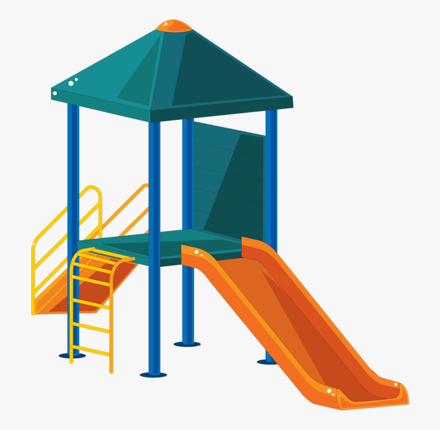 Kids Playing Clipart School Playground Equipment - Playground Clipart, Transparent Clipart