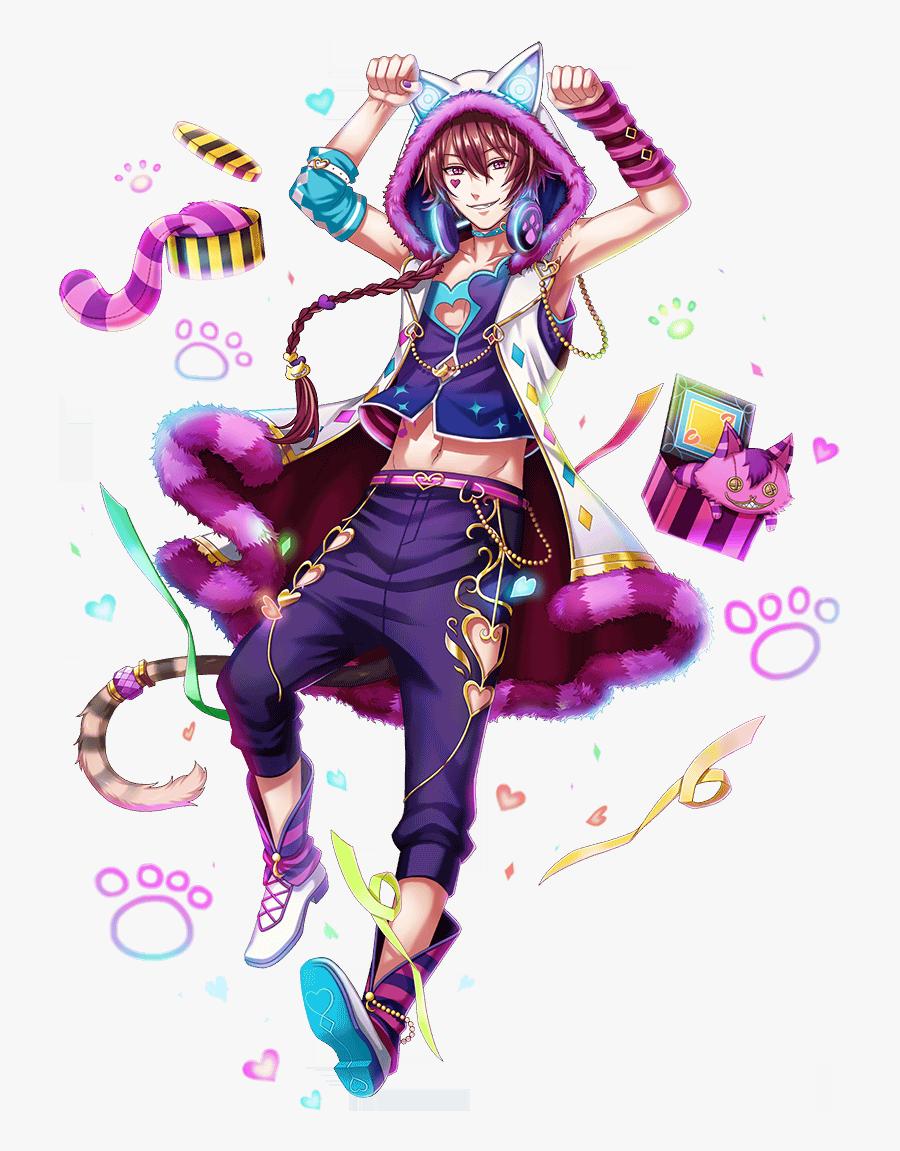 #cheshirecat#cheshire #cat#anime #animeboy #cute - Cheshire Cat Anime Boy, Transparent Clipart