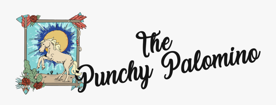 Tee The Punchy Palomino - Calligraphy, Transparent Clipart