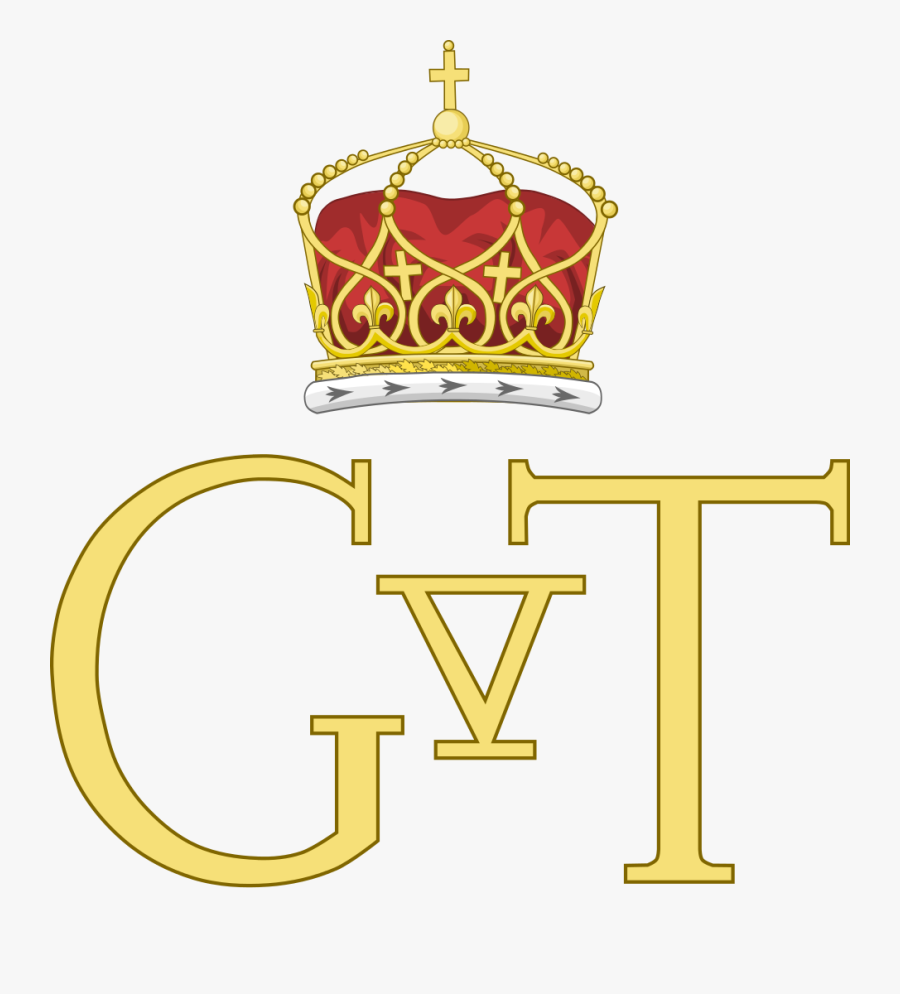 King Clipart King George - Monogram Of King George 1, Transparent Clipart