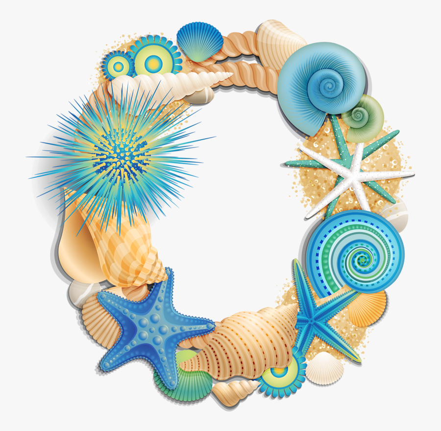 Seashell L Alphabet Letter, Transparent Clipart